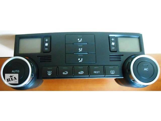 Блок управления печкой/климатконтролем Volkswagen Touareg Туарег- объявление о продаже  в Ровно