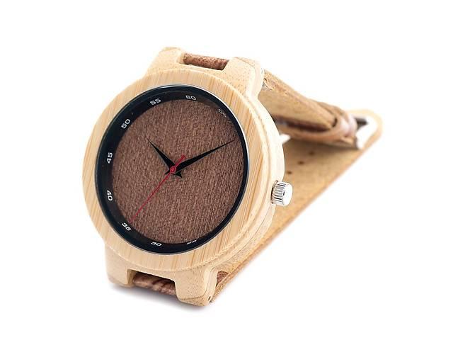 Bobo Bird эко-часы деревянный корпус , кожаный ремішок!!!- объявление о продаже  в Львове