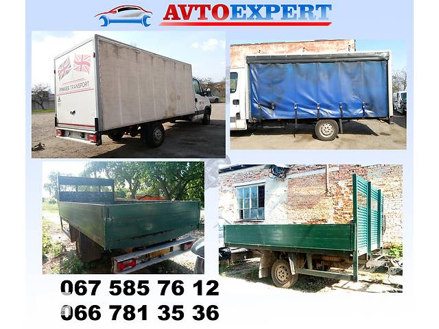 купить бу Борт кузов будка тент штора бортовой кузов в Тернополі
