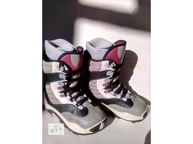 купить бу Ботинки для сноуборда Deeluxe Raichle 38 р (24 см) в Мукачево