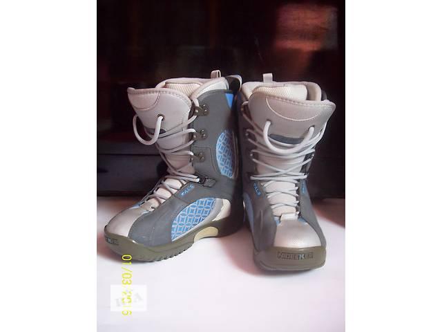 Ботинки для сноуборда Nidecker 37 р (23.8см)- объявление о продаже  в Мукачево