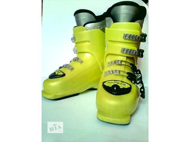 купить бу Ботинки горнолыжные Fischer Soma Race Jr 40 (37 размер, 24-24, 5 см) в Мукачево