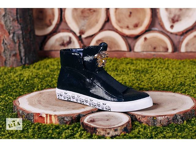 "бу Ботинки ""Versace"" код 8222б1 в Николаеве"