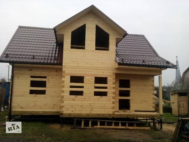 продам Брусовые и каркасные дома бу  в Украине