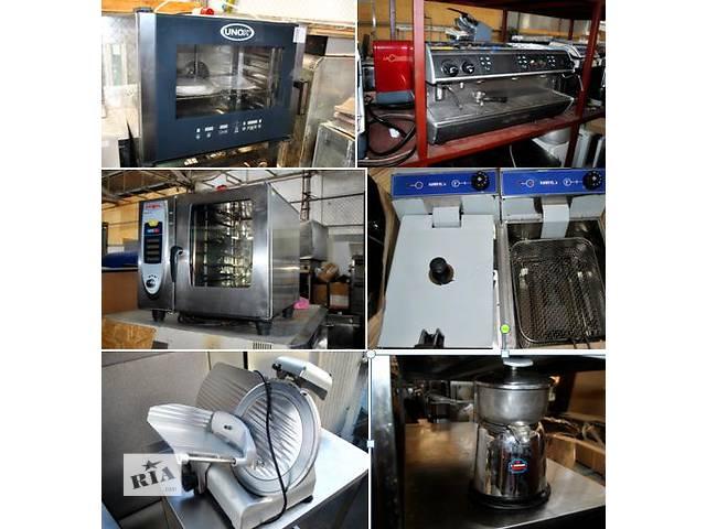продам Бу оборудование для ресторана кафе, бара, паба, столовой. Комплексное оснащение заведения холодильным тепловым бу в Киеве