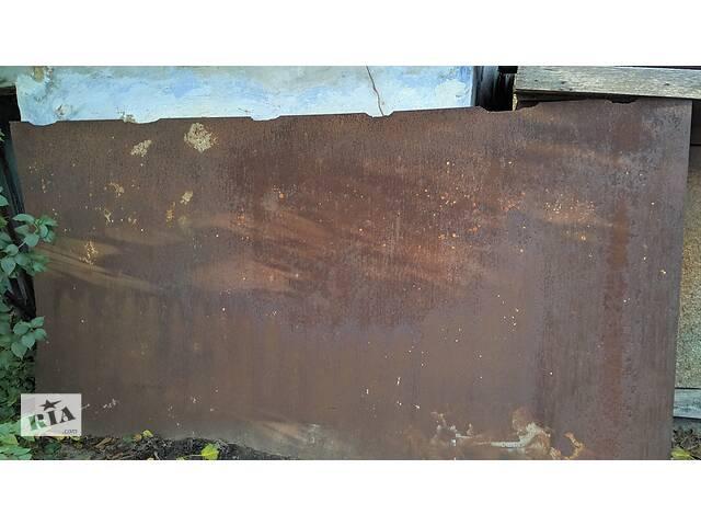 бу Продам большой стальной лист 4мм в Бериславе