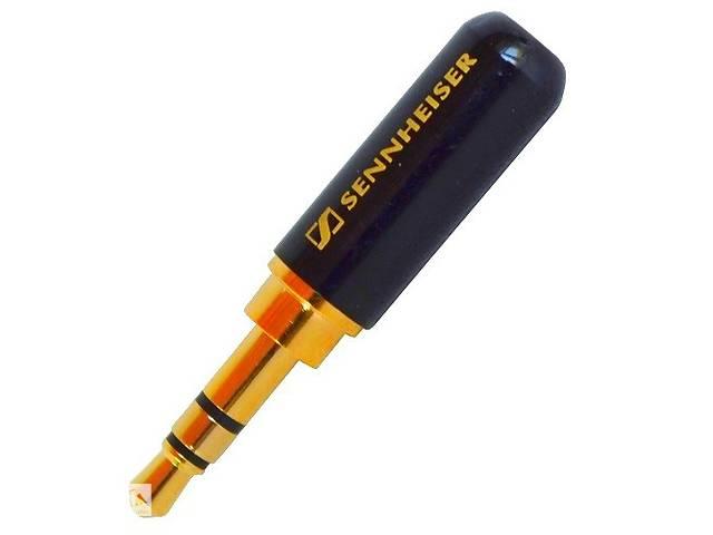 продам Штекер 3,5мм стерео, Sennheiser, металлический корпус, чёрный Art. opto-636386585 бу в Дубно (Ровенской обл.)