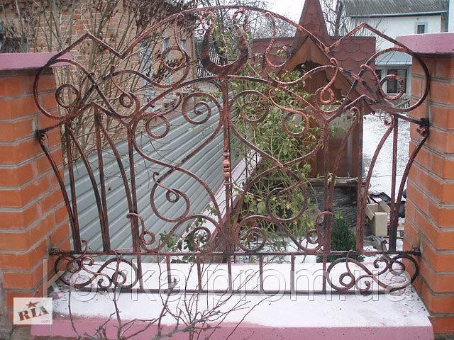 купить бу Забор кованый с узором в Ладыжине