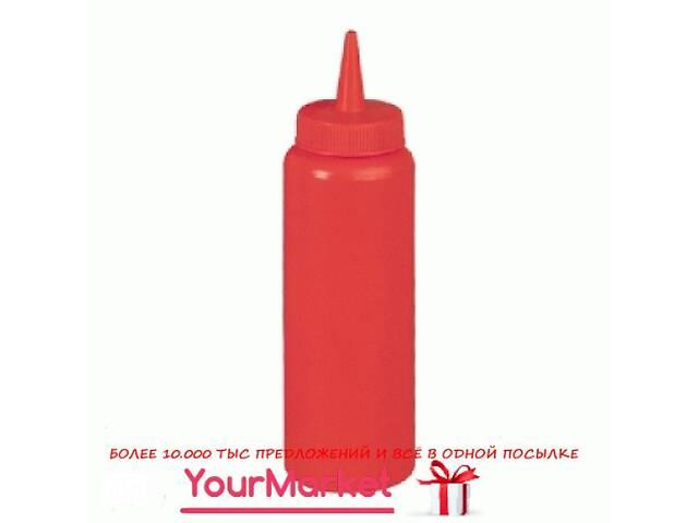 бу Бутылка пластиковая для соусов FoREST 240 мл красная 502401 в Чернигове