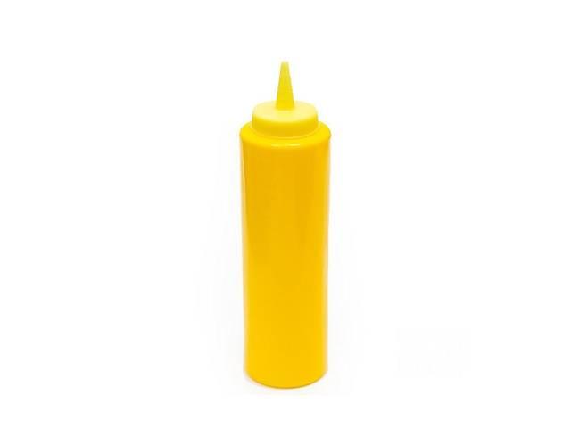 купить бу Бутылка пластиковая для соусов FoREST 240 мл желтая 502402 в Чернигове