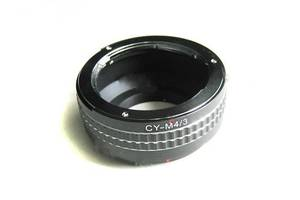 Адаптер-перехідник Contax/Yashica CY - Micro 4/3 Ulata