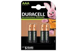 Аккумулятор Duracell AAA TURBO HR03 900mAh * 4 (5005015)