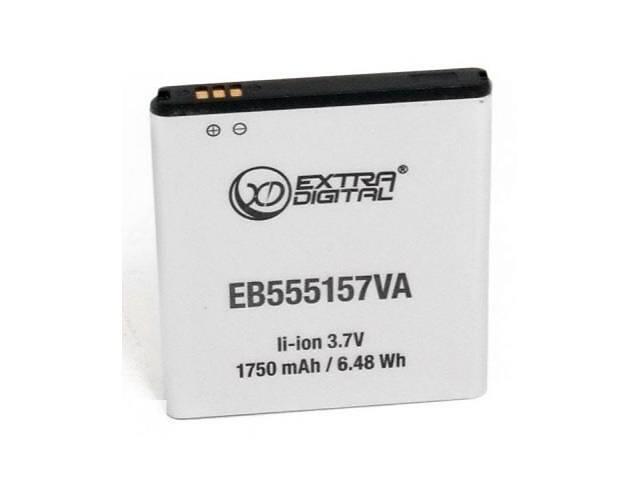 бу Акумуляторна батарея для телефону EXTRADIGITAL Samsung SGH-i997 Galaxy S Infuse 4G (1750 mAh, EB555157VA) (BMS6331) в Харкові