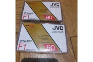 Аудіокасети рідкісні JVC Dynarec F1 90. запечатані