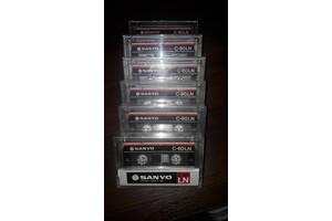 Аудіокасети SANYO C-60 LN.