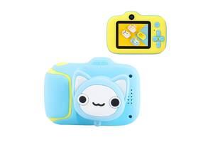 Дитяча Фотокамера Smart Kids Cam G 7 Kitty Plus Протиударний Фотоапарат 20 Mpx, Full HD 1920x1080P, фото і відео. ..