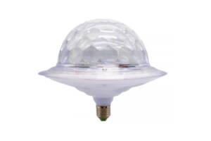 Диско шар в патрон LED UFO Bluetooth Crystal Magic Ball E27 0926 (gr_010778)