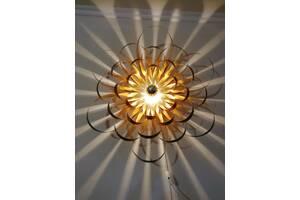 Эксклюзивный дизайнерский настенный светильник Георгина