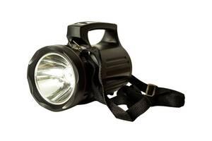 Мощный светодиодный аккумуляторный фонарь прожектор Bailong переносной фонарь для охраны