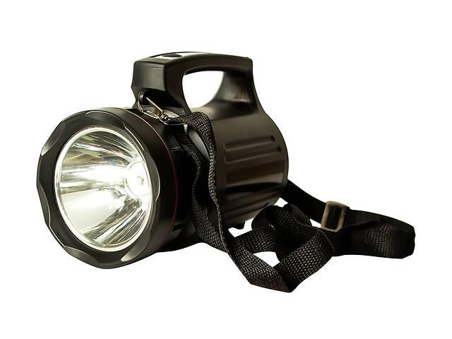 купить бу Мощный светодиодный аккумуляторный фонарь прожектор Bailong переносной фонарь для охраны в Харькове