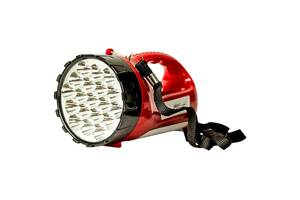 Мощный светодиодный аккумуляторный фонарь прожектор YAJIA переносной фонарь для охраны