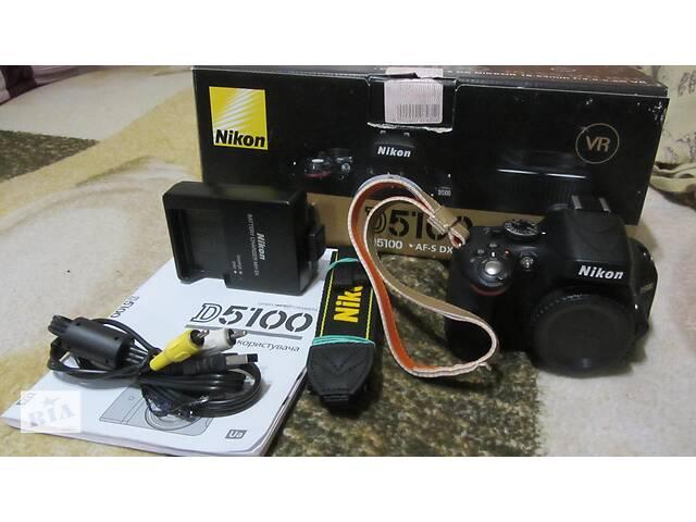 купить бу Фотоапарат NIKON D 5100 body Суми! в Сумах