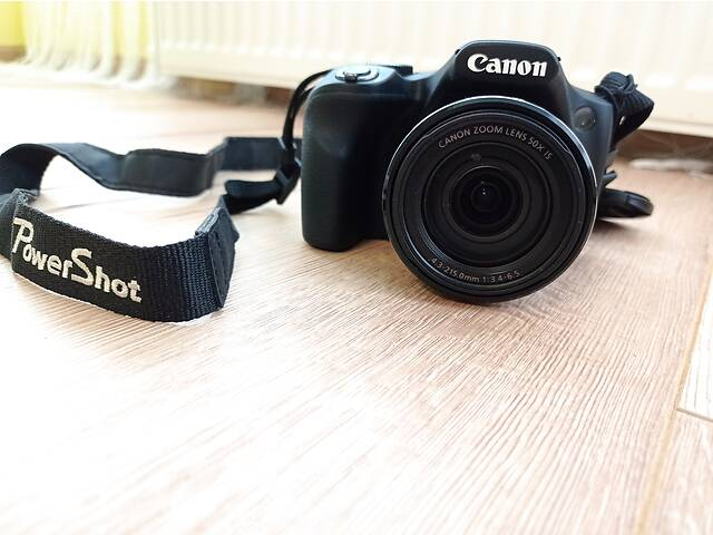 купить бу Фотоапарат цифровий CANON Powershot SX530 HS Black в Житомире