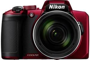 Фотоаппарат NIKON Coolpix B600 Red (VQA091EA)