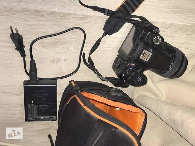 бу Фотоаппарат Sony Alpha SLT-A58 Kit 18-55 в Одессе