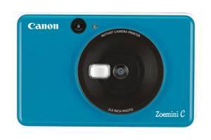Фотокамера моментальной печати Canon ZOEMINI C CV123 Seaside Blue 3884C008