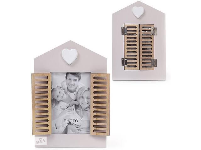 продам Фоторамка Babyroom Окно со ставнями для фото 10х15см деревянная (psg_BD-443-538) бу в Киеве