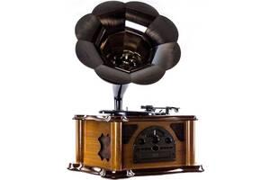 Граммофон Daklin Синатра 11104-T02, с поддержкой MP3 и WMA