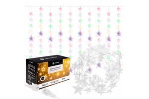 Гирлянда бахрома уличная (наружная) Springos 2 м 180 LED CL4005 Mix