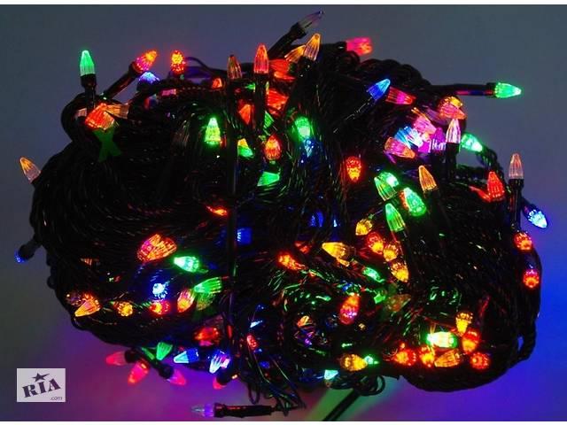 бу Гирлянда светодиодная LED 300 мультик черный в Харькове