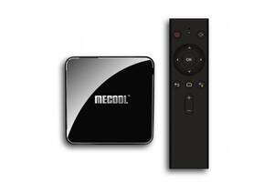 HD медиаплеер Mecool KM3 Rare Android TV (S905X2/4GB/128GB) google certificate