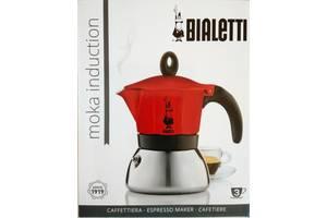 Кофеварка гейзерная Bialetti Moka Induction на 3 ч. (130 мл.) все цвета