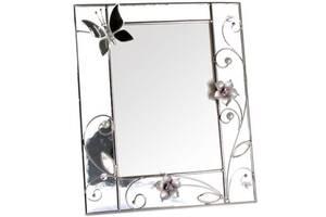 Красивая фоторамка Колокольчики и зеркальная бабочка Charme de femme 320-57