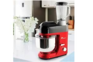 Кухонний комбайн Domotec MS-2051 3-в-1 тістомісильник м'ясорубка блендер 3000W Red