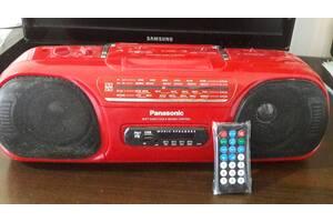 Магнитола Panasonic = ТЮНЕР  + USB +пульт.