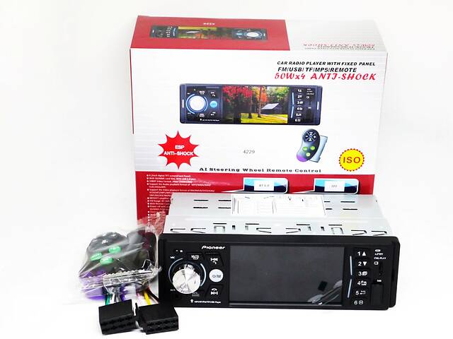 продам Магнітола Pioneer 4229 ISO - екран 4,1& amp; # 039;& Amp; # 039; + DIVX, MP3 + USB + SD + Bluetooth бу в Вінниці