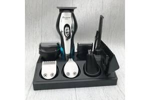 Машинка для стрижки + бритва + триммер 11в1 Gemei GM-562 / Профессиональный набор для стрижки аккумуляторный