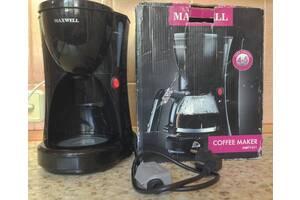 MAXWELL MW-тисячу шістсот п'ятьдесят одна BK кавоварка крапельна без колби