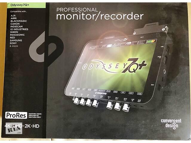 бу Монитор рекордер на камеру Convergent Design Odyssey7Q+ 4K (USA) в Тернополе