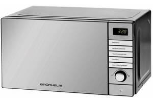 Микроволновая электронная печь Grunhelm 20MX921-S маленькая микроволновка
