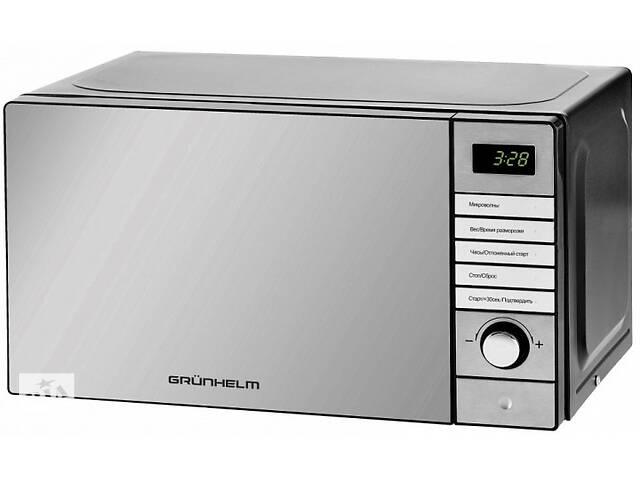 бу Мікрохвильова електронна піч Grunhelm 20MX921-S маленька мікрохвильовка в Харкові