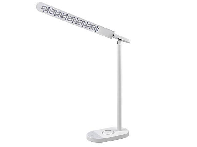 продам Настільна лампа Lightrich S3 c бездротовою зарядкою, White бу в Запоріжжі