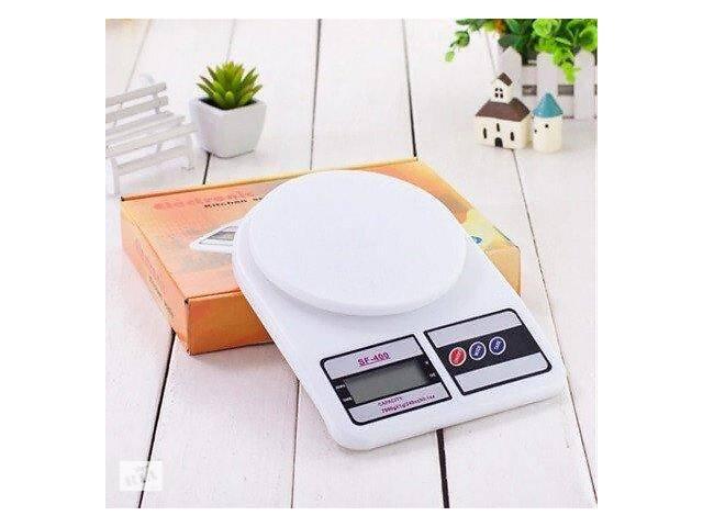 продам Настольные кухонные электронные весы для взвешивания продуктов SF-400 с дисплеем для дома до 10кг бу в Харькове