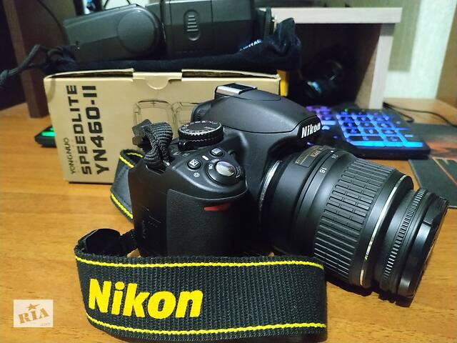 продам Nikon 3100 + YN460-ll бу в Чернігові