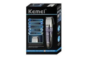 НОВИНКА !!! Бездротова машинка для стрижки волосся і бороди Kemei KM 8066