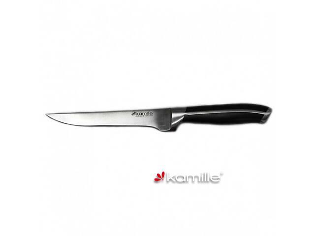 бу Нож кухонный для костей с ручкой из ABS-пластика Kamille 5118 в Киеве